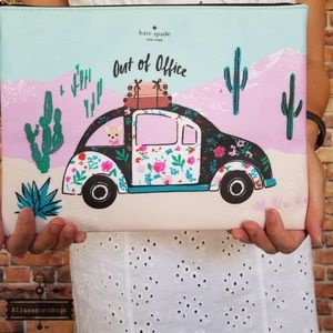 NEW Kate Spade New Horizons Out Of Office Gia NWT